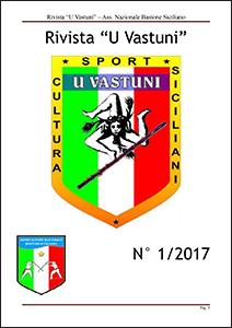 Rivista U Vastuni bastone siciliano numero 1 2017