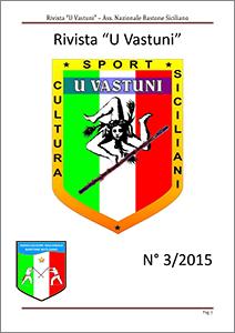 Rivista U Vastuni bastone siciliano numero 3 2015